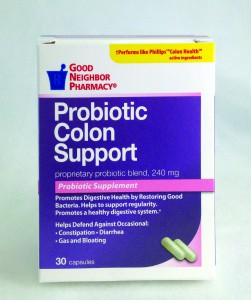 Probiotic Colon Support Supplement